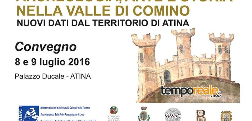 """Atina / Archeologia, arte e storia nella Valle di Comino"""", il convegno al museo archeologico"""
