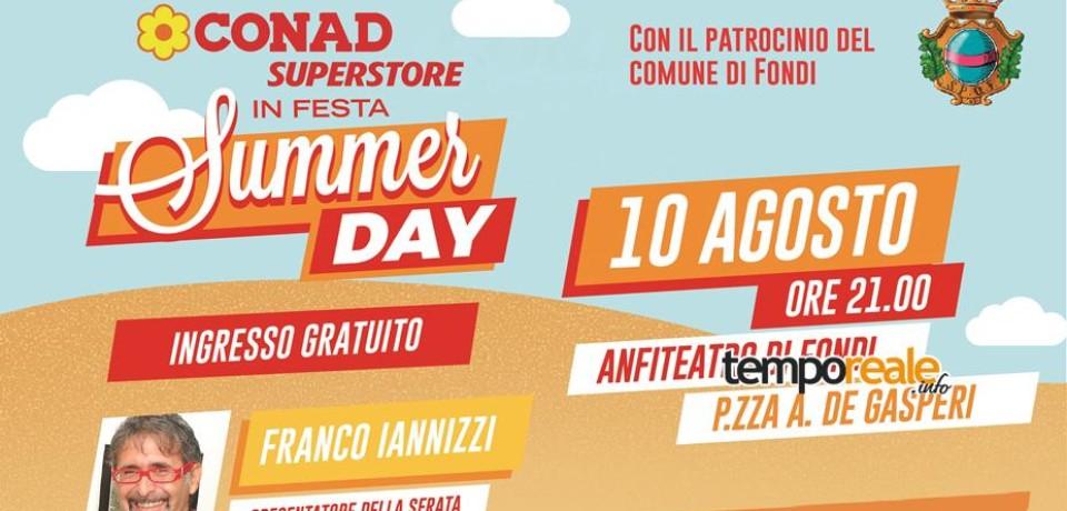 Fondi / Tutto pronto per il Conad Superstore Summer Day