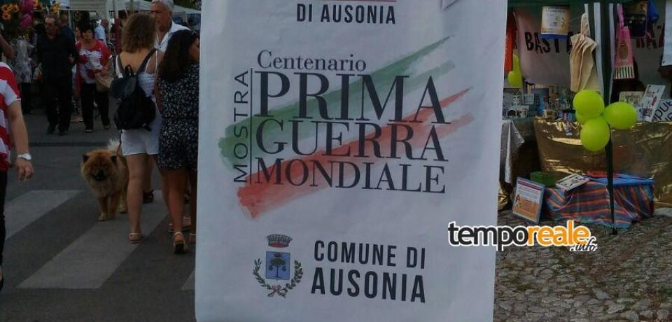 """Ausonia / Grande affluenza di pubblico per il """"Museo del Fronte e della Memoria"""""""