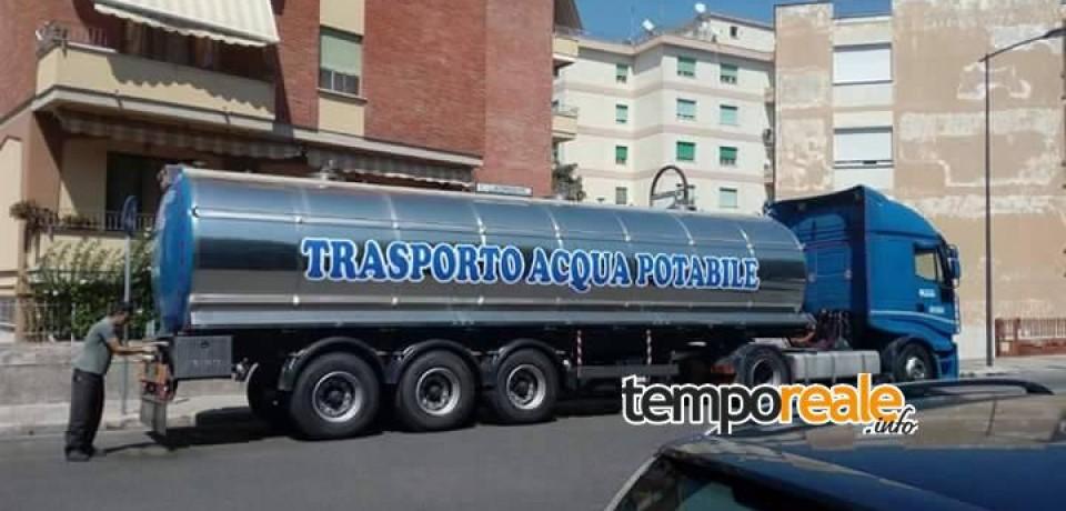 Fondi / Acqua non potabile, ordinanza del sindaco De Meo