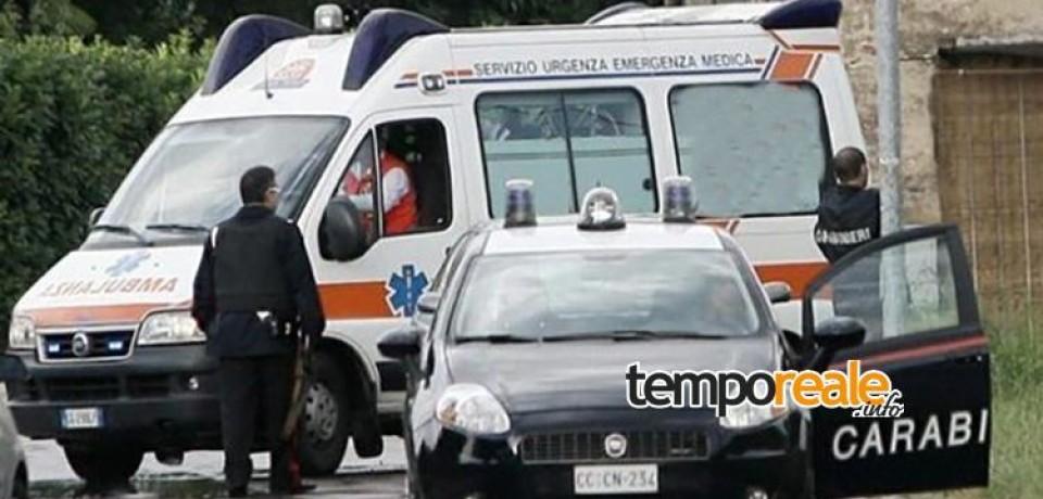 Roccasecca / Minaccia di suicidarsi lanciandosi nel vuoto, 20enne salvata dai Carabinieri