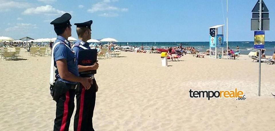 Gaeta / Si aggirava tra ombrelloni incustoditi in cerca di portafogli da rubare, denunciato 42enne