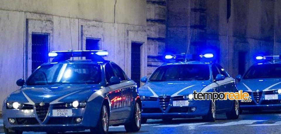 Frosinone / Folle corsa nella notte, Polizia arresta fuggitivo dopo un rocambolesco inseguimento