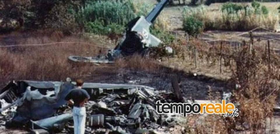 Minturno / Aereo militare precipitato a S.Maria Infante, il ricordo 25 anni dopo
