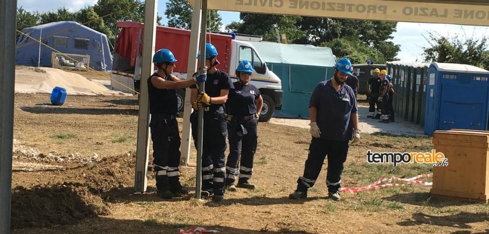 Formia / I volontari del Ver Sud Pontino impegnati tra incendi e terremoto nel centro Italia