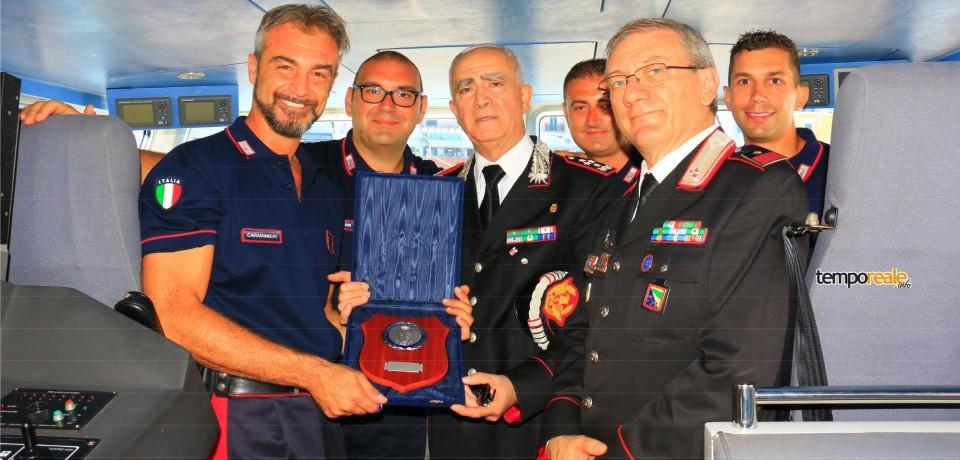 Il Comandante Generale dei Carabinieri Tullio Del Sette fa visita ai colleghi delle isole pontine