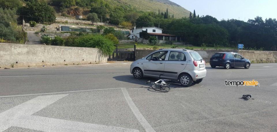 Gaeta / Ciclista investito sull'Appia in pieno giorno