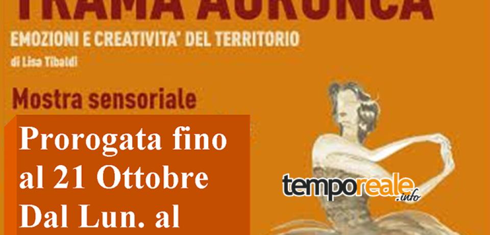 Formia / Trama Aurunca, prorogata la mostra di Lisa Tibaldi dedicata alla stramma
