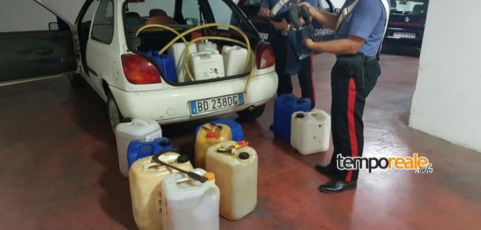 Cisterna / Furto di carburante, arrestato 31enne rumeno pregiudicato