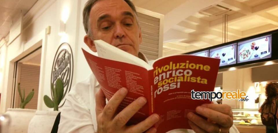 """Minturno / """"Rivoluzione socialista"""", il presidente della regione Toscana Enrico Rossi presenta il suo libro"""