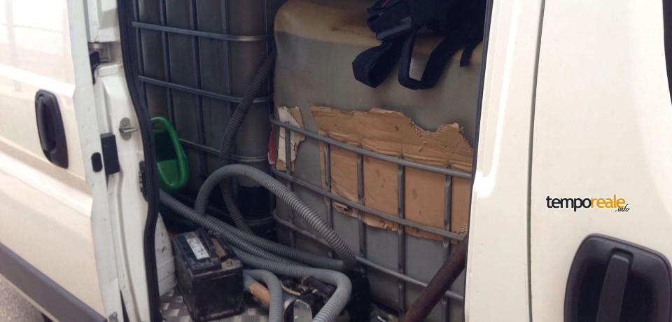 Castrocielo / Polizia Stradale sequestra 2.000 litri di gasolio e denuncia due campani per ricettazione