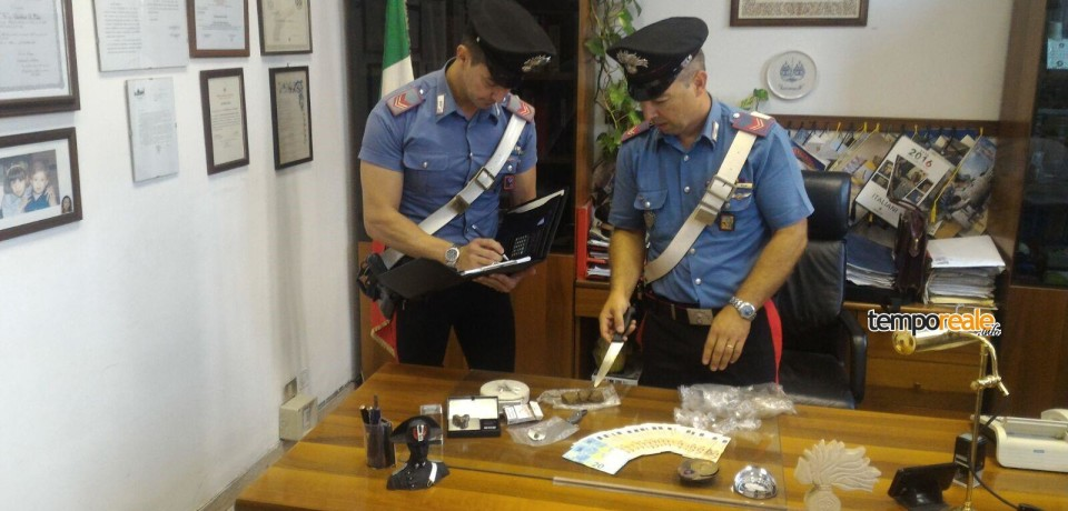 Latina / Tre arresti per detenzione a fini di spaccio di cocaina e hashish