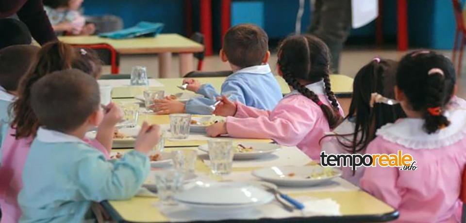 Formia / Servizio di refezione scolastica, parere favorevole dai controlli dell'Asl
