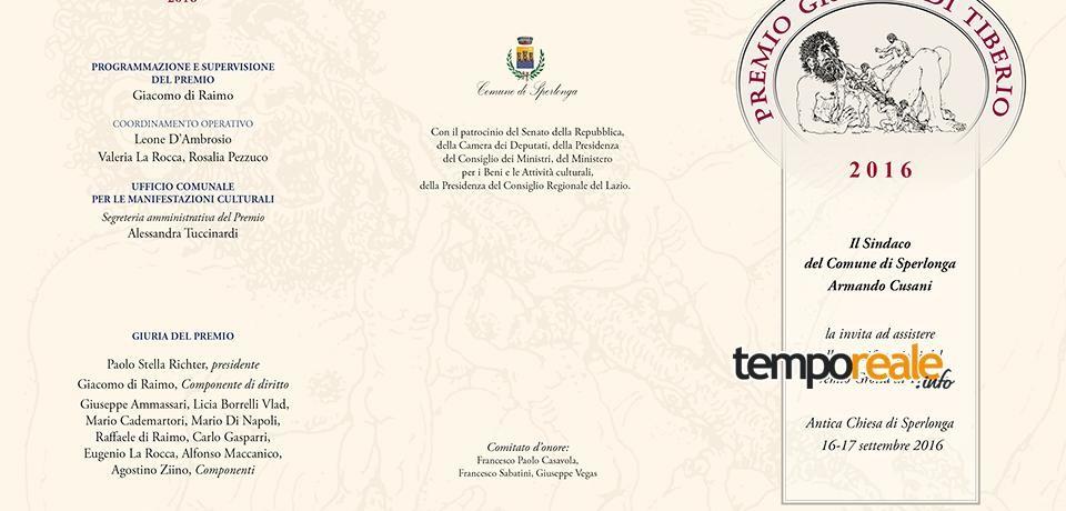 Sperlonga / L'antica Roma protagonista della XIX edizione del premio Grotta di Tiberio