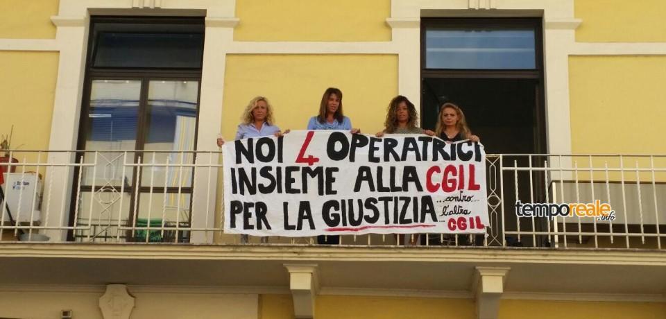 """Formia / Asilo nido """"La Vecchia Quercia"""", la protesta delle quattro operatrici"""