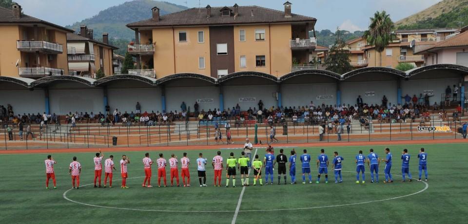 Il Gaeta Calcio spreca una grande occasione e pareggia 1-1 con Itri