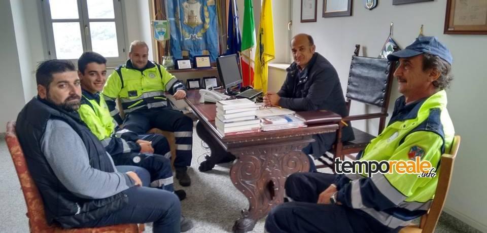 Castelforte / Terremoto, i volontari dell'Associazione Aego ad Accumoli
