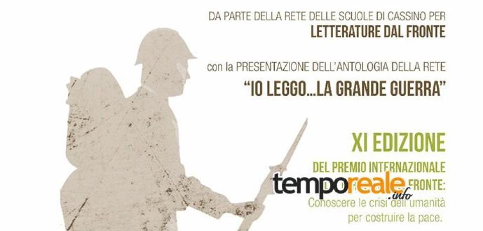 """Cassino / """"Letterature dal fronte"""", l'inaugurazione del nuovo anno scolastico della """"Rete delle scuole"""""""