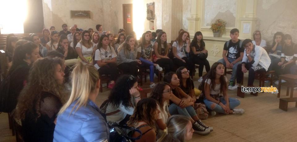 Fondi / Via Francigena del Sud – Appia Latina, gli studenti la esplorano per migliorarla