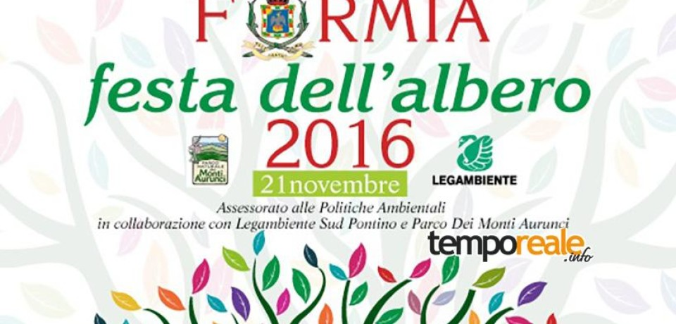 """Formia / """"Festa dell'Albero"""", pronta la piantumazione di dieci specie arboree nei tre Istituti Comprensivi"""