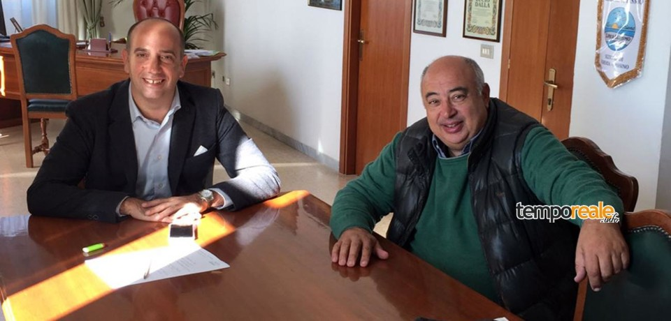 Minturno / Incontro tra sindaco e presidente del Consorzio Industriale del Sud Pontino