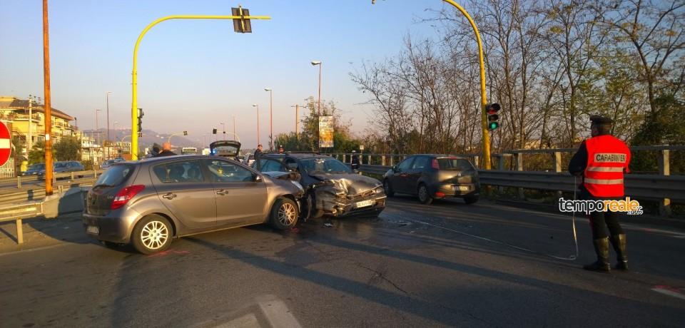 Formia / Incidente all'incrocio di via De Gasperi, coinvolti due bambini