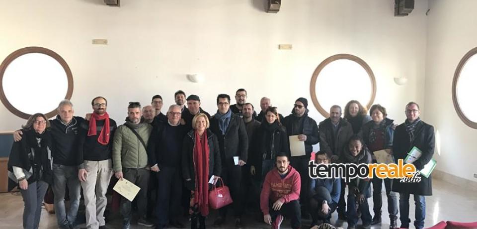 Itri / 15 nuovi Assaggiatori pontini di Olio Vergine ed Extravergine d'Oliva