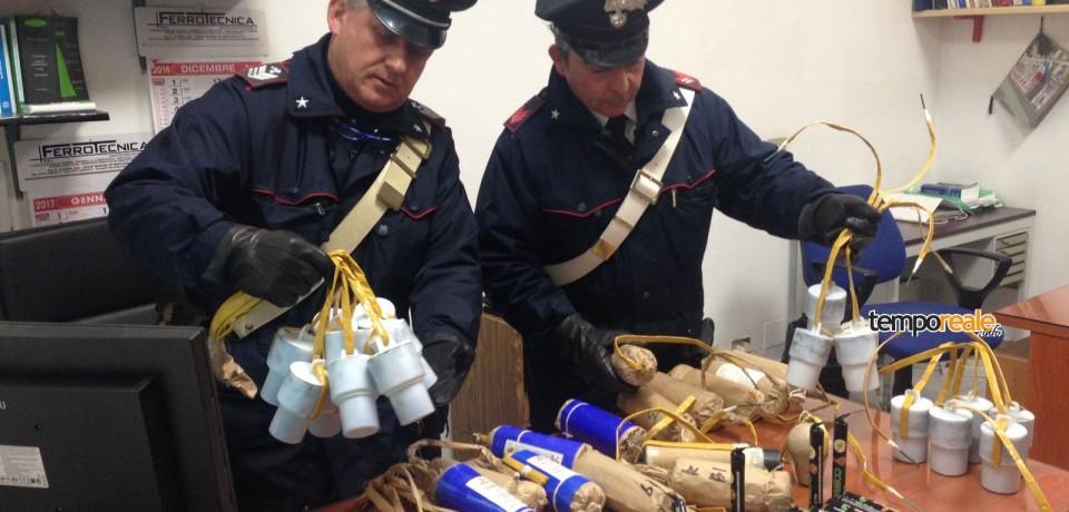 Scauri / Sequestrati 78 chili di botti per Capodanno, 50enne denunciato