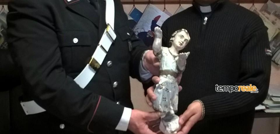 Cervaro / Rubata la statua del bambinello nella Chiesa di Santa Maria Maggiore
