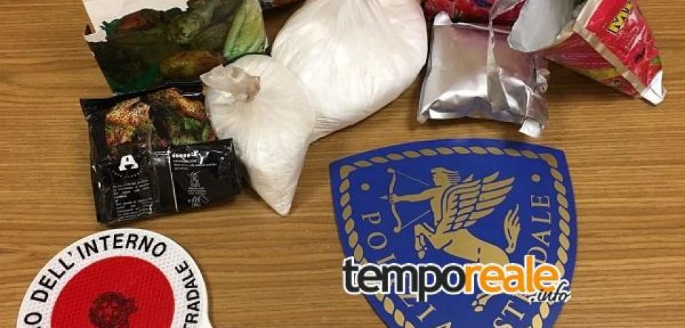 Frosinone / La Polizia arresta due corrieri della droga sulla A1