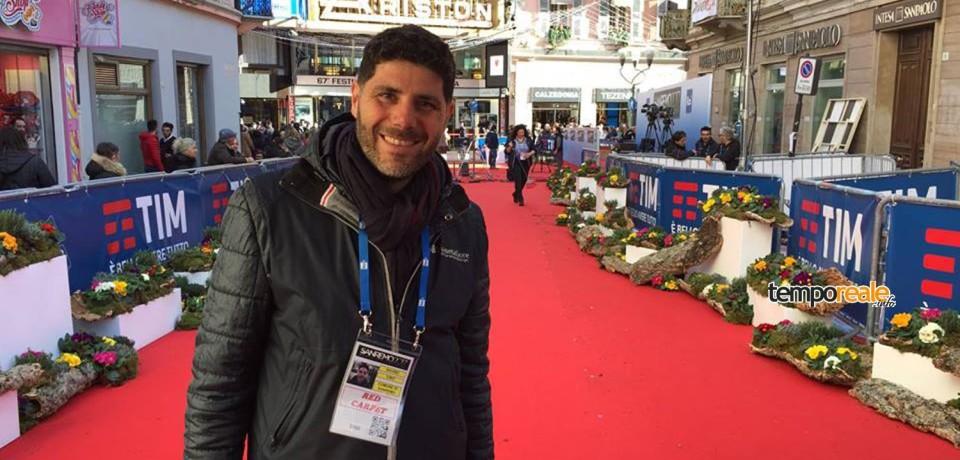 Minturno / Ciro Savino tra i fioristi del Festival di Sanremo