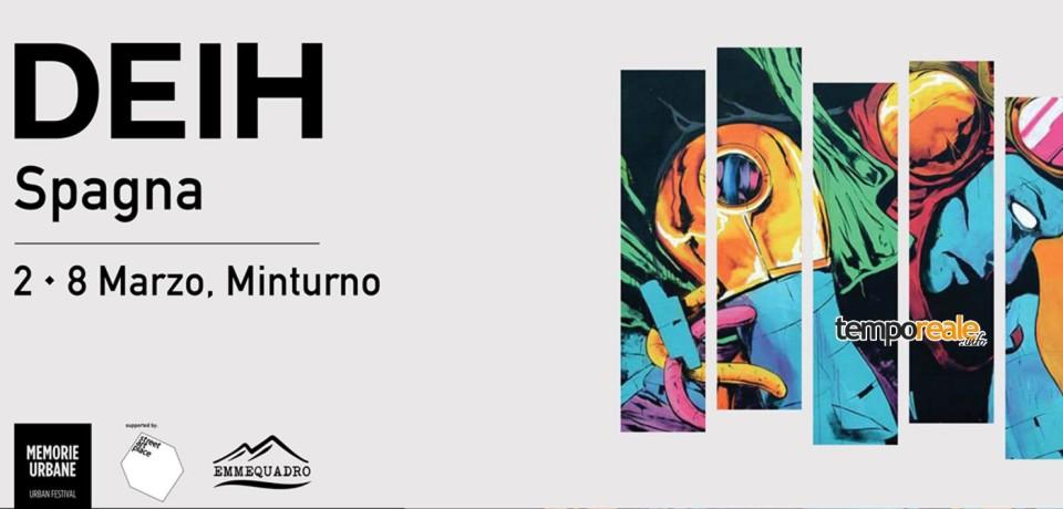 """Minturno / Il Comune aderisce al festival di street art """"Memorie Urbane"""""""