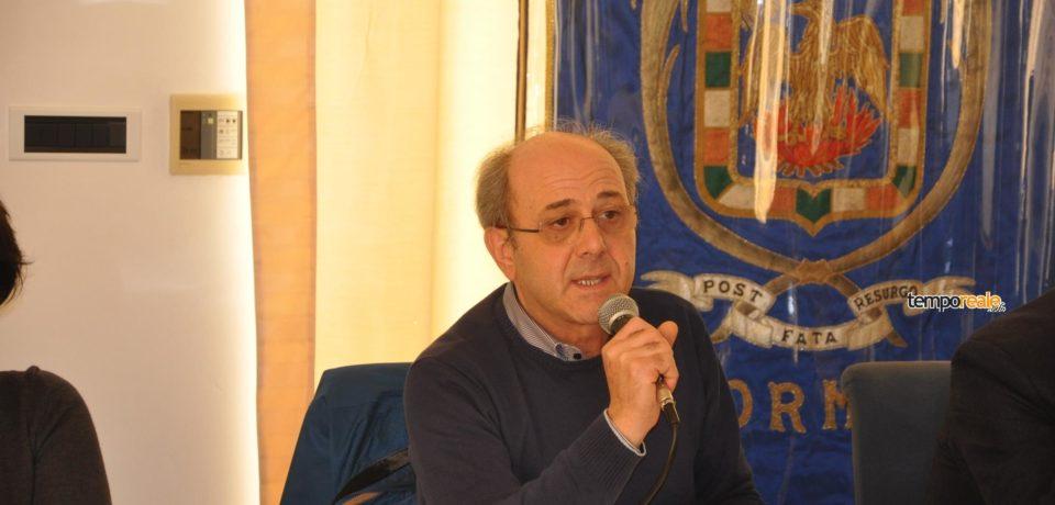 """Formia / Giuseppe Bortone candidato al consiglio regionale del Lazio con """"Liberi e Uguali"""" (video)"""