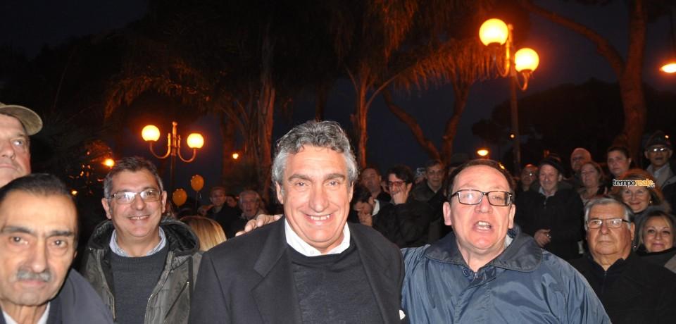 Gaeta / Primo discorso ufficiale di Massimo Magliozzi in Piazza della Libertà