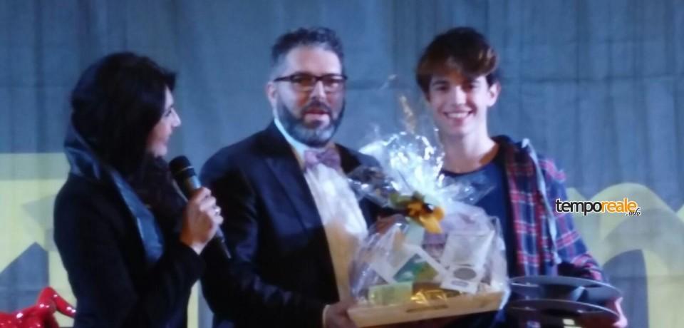 Formia / Daniel Piccirillo, 15 anni, vince il Sanremo music awards