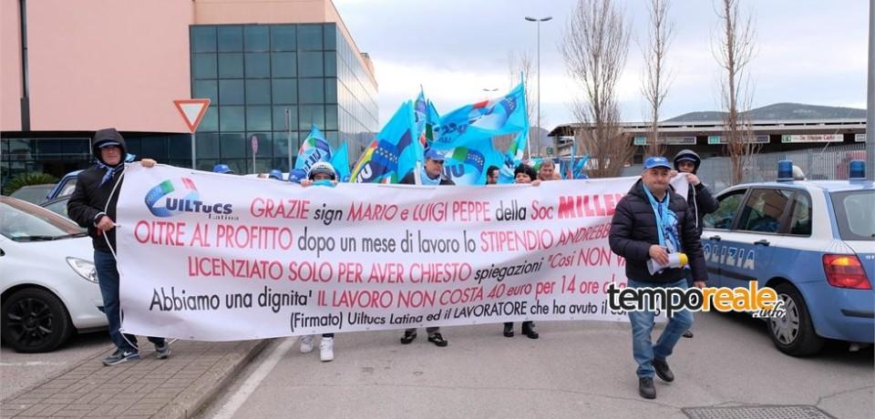 """Fondi / Riuscito lo sciopero al Mof di Fondi, fissato a lunedì l'incontro con la """"Millennium"""""""
