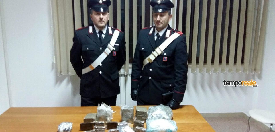 Roccagorga / Hashish e marijuana nascosti nel materasso, arrestato 35enne