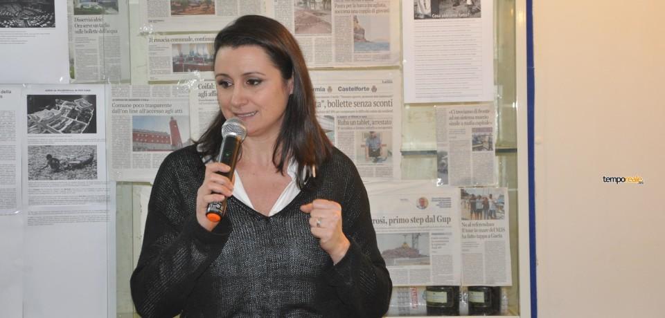 Gaeta / Laura Vallucci (m5s) illustra la sua candidatura