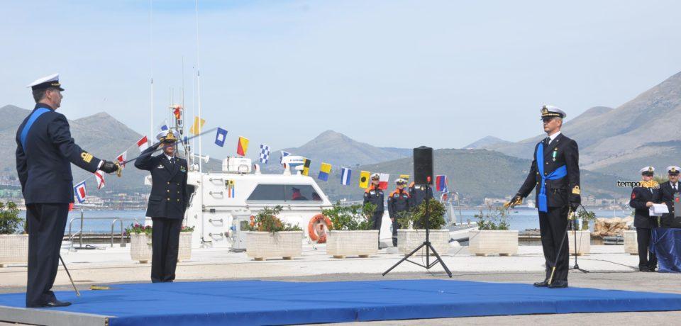 Gaeta / Compartimento marittimo, si insedia il comandante Andrea Vaiardi