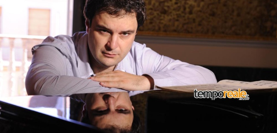 Fondi Music Festival, il pianista Gianfranco Pappalardo Fiumara in concerto