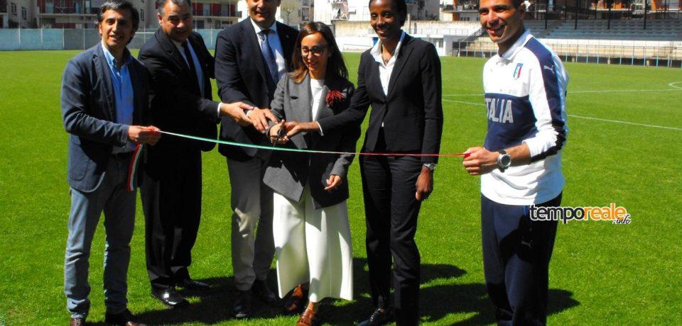 Formia / Calcio, la Nazionale Under 19 femminile lancia la sfida all'europeo dal centro Coni