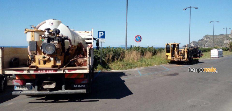 Gaeta / Piana di Sant'Agostino: iniziati i lavori per il potenziamento del servizio idrico e allacci fognari