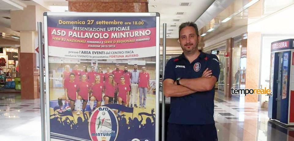 Pallavolo Minturno, si dimette il General Manager Marco Conte
