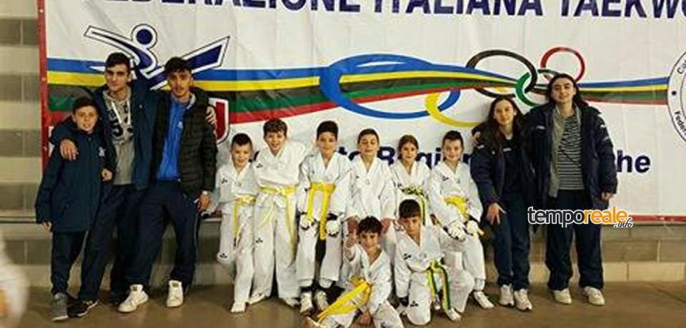 Minturno / Scuola Taekwondo Sirignano, ottima prestazione negli interregionali Marche