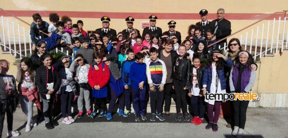 Cassino / Porte aperte per gli scolari alla caserma dei Carabinieri