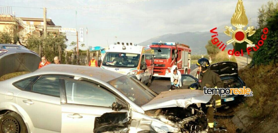 Formia / Pasquetta funestata da un brutto incidente stradale
