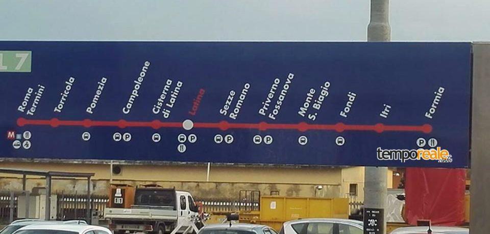 Minturno-Scauri non contemplata nei cartelli di Trenitalia, le critiche dei comitati pendolari