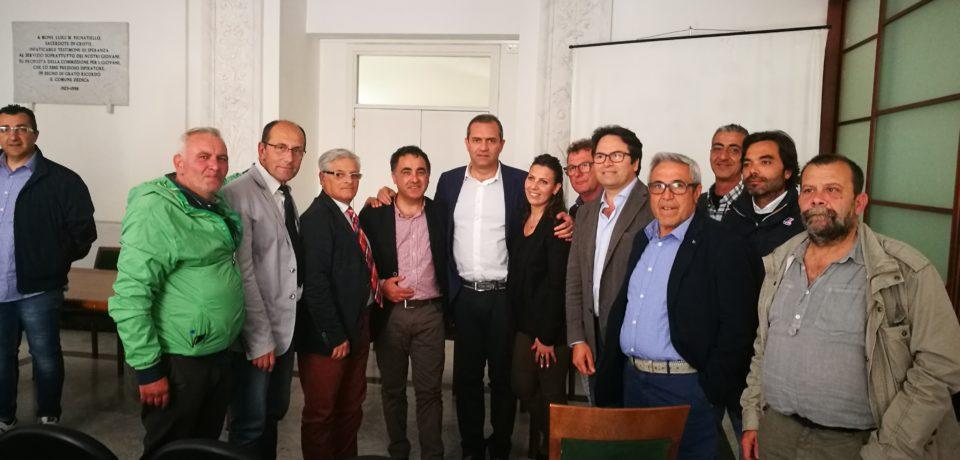 Bolkestein, incontro con il sindaco di Napoli Luigi De Magistris