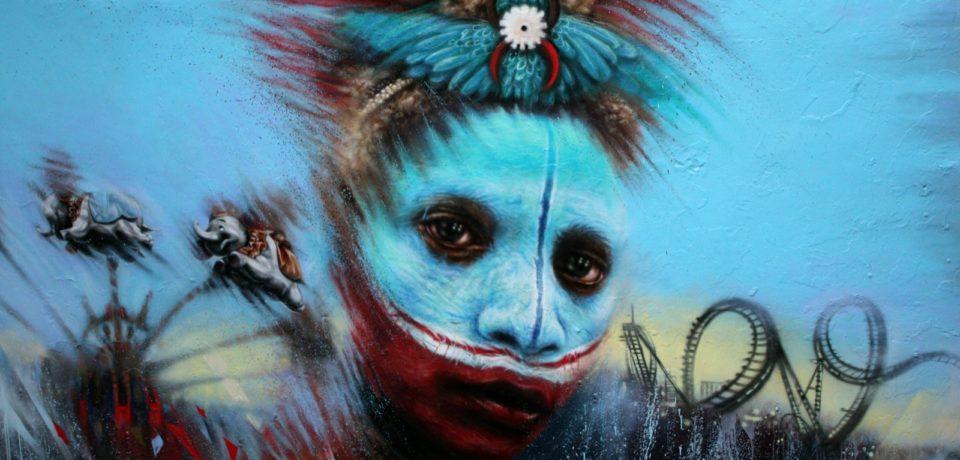 """Formia / """"Memorie urbane"""", l'artista inglese Dale Grimshaw da domani al lavoro sul muro di via Cassio"""