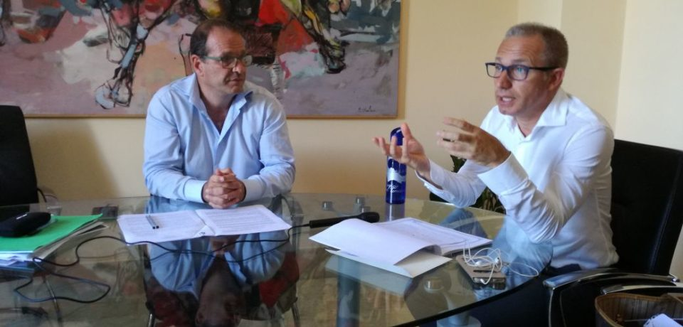 Gaeta / Acqualatina, Mitrano presenta il suo piano contro la siccità (video)